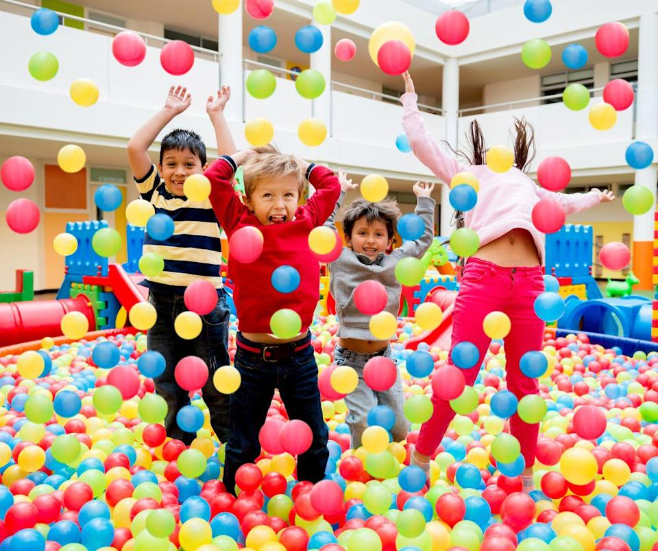 "<p>The ball pit is fun in theroy, but scary when you think more about the transmission of not only COVID-19, but colds, flus and other ailments. A recent study showed that, despite sanitation, <a href=""https://newsroom.clevelandclinic.org/2019/07/10/study-looks-at-germs-lurking-in-ball-pits/"" rel=""nofollow noopener"" target=""_blank"" data-ylk=""slk:ball pits do carry a lot of bacteria"" class=""link rapid-noclick-resp"">ball pits do carry a lot of bacteria</a> which could be dangerous for people with compromised immune systems. Staff would have to make major alterations to the cleaning process for these to be considered safe again, Add in <a href=""https://www.washingtonpost.com/business/2020/06/25/chuck-e-cheese-bankruptcy-coronavirus/"" rel=""nofollow noopener"" target=""_blank"" data-ylk=""slk:Chuck E Cheese filing for bankruptcy"" class=""link rapid-noclick-resp"">Chuck E Cheese filing for bankruptcy</a> last month, and the ball pit could be in jeopardy.</p>"