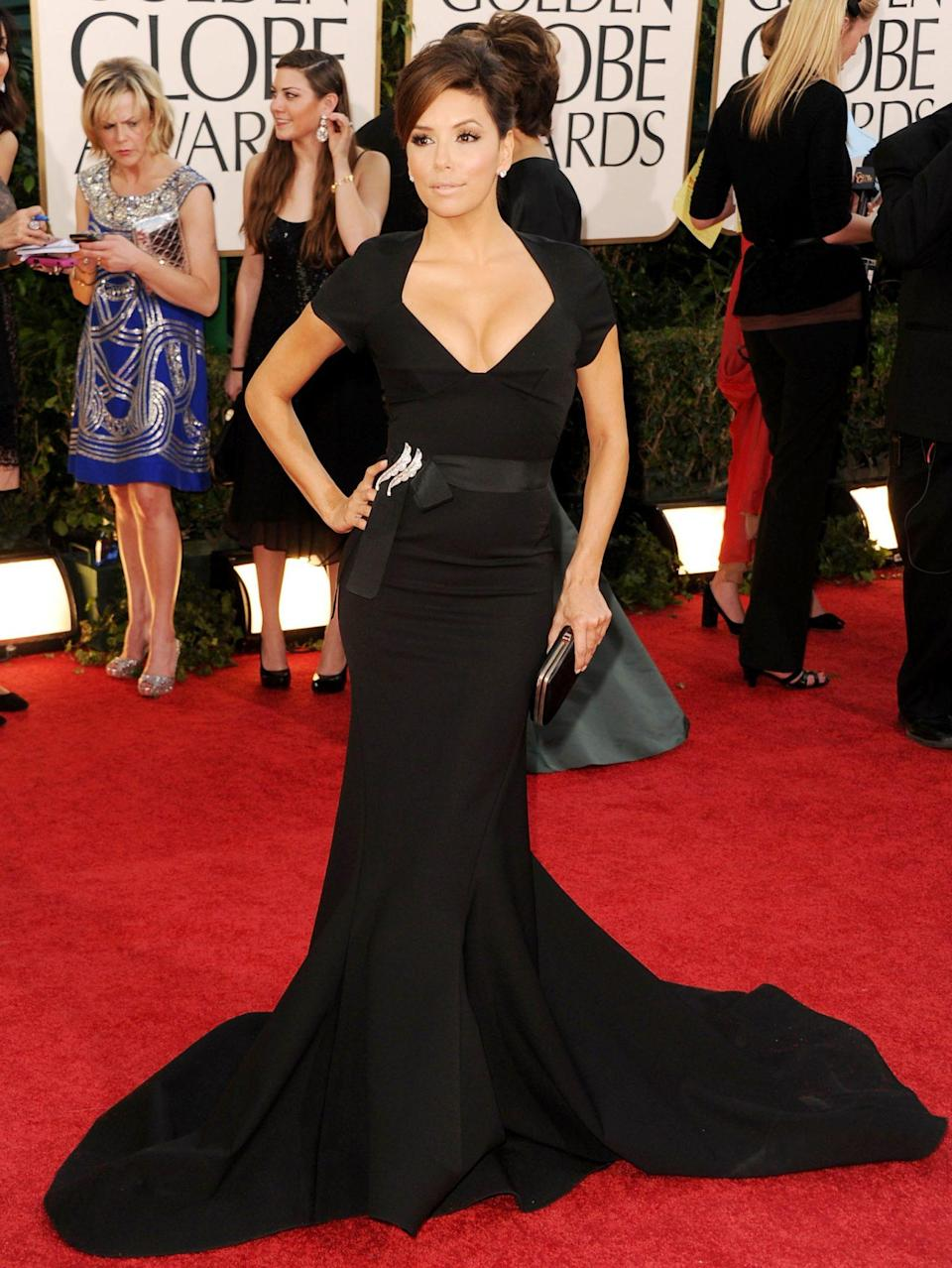 <p><em>Desperate Housewives </em>was winding down, but Eva Longoria was just ramping up her fashion on the red carpet.</p>