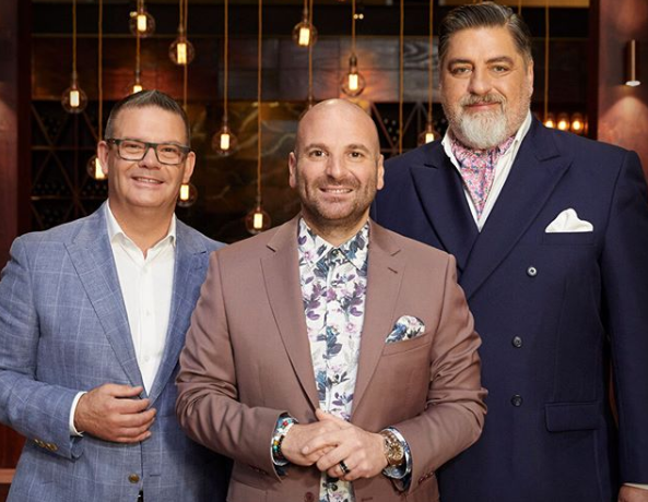 George Calombaris, Gary Mehigan and Matt Preston were axed earlier this year. Photo: Network 10