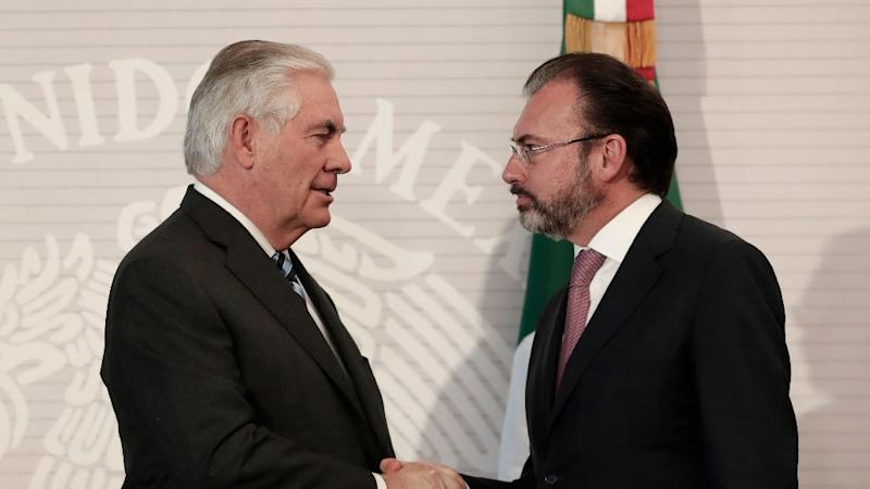 "State Dept ""Unaware"" of Mexican Foreign Secy's Visit to US Capital"