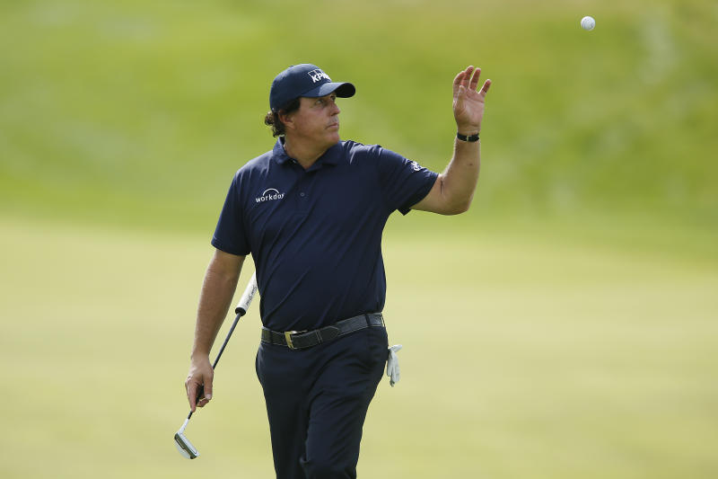 Struggling Mickelson fasts ahead of The Open