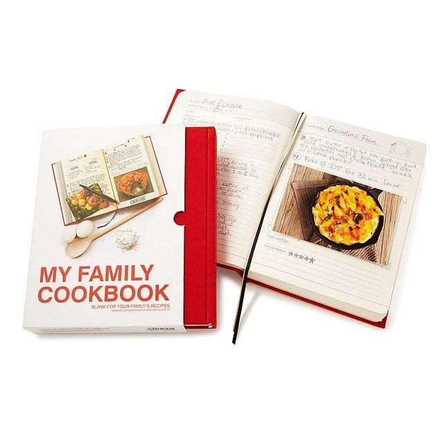 <p>This <span>My Family Cookbook<br> </span> ($30) makes one thoughtful gift.</p>