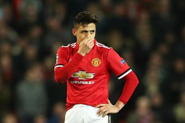 Alexis Sanchez stats make grim reading for Manchester United fans