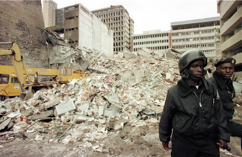 The attack on the US embassy in Nairobi took place shortly before a similar attack on the embassy in Tanzania, which together claimed 224 lives (AFP Photo/ALEXANDER JOE)