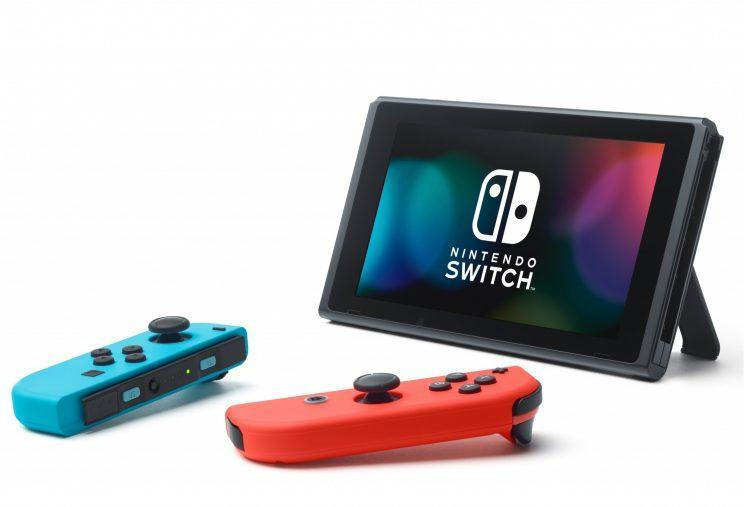 The Switch in table mode.