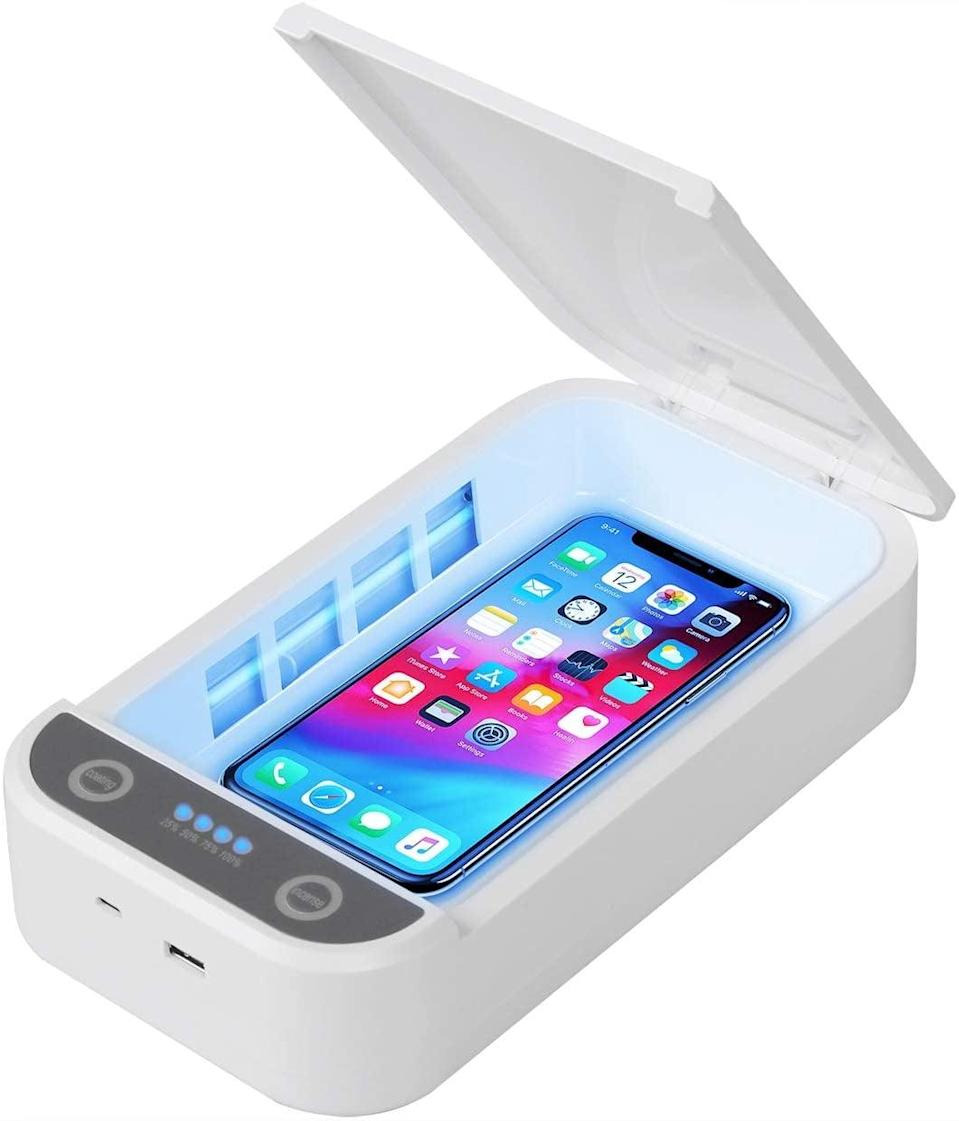 <p>If you're looking for an affordable choice, get the <span>UV Phone Sanitizer Smartphone Sterilizer</span> ($31).</p>