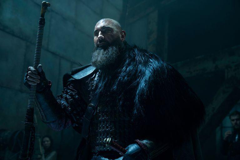 Dave Bautista as Edo, in the second season of See