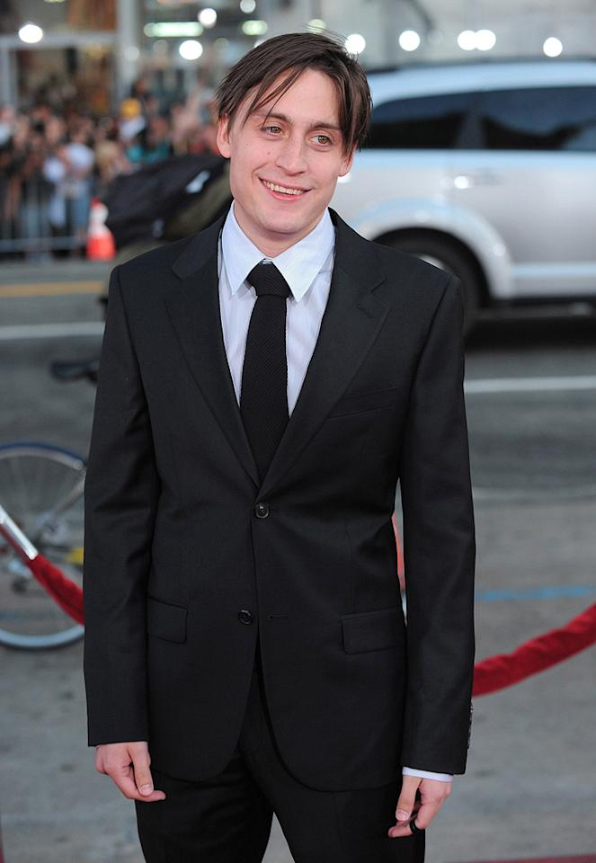 "<a href=""http://movies.yahoo.com/movie/contributor/1800025844"">Kieran Culkin</a> at the Los Angeles premiere of <a href=""http://movies.yahoo.com/movie/1810070753/info"">Scott Pilgrim vs. the World</a> - 07/27/2010"