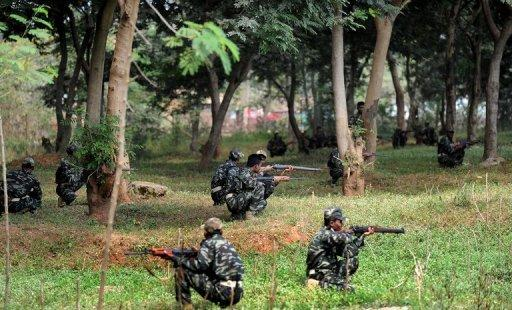 The Maoists have been fighting a deadly low-intensity war against authorities for decades in Chhattisgarh state