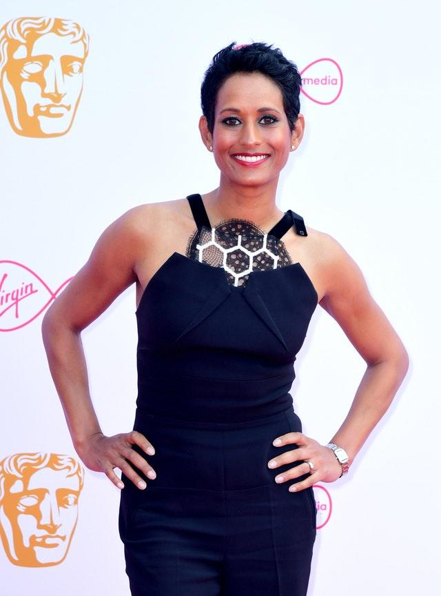 Naga Munchetty was previously criticised
