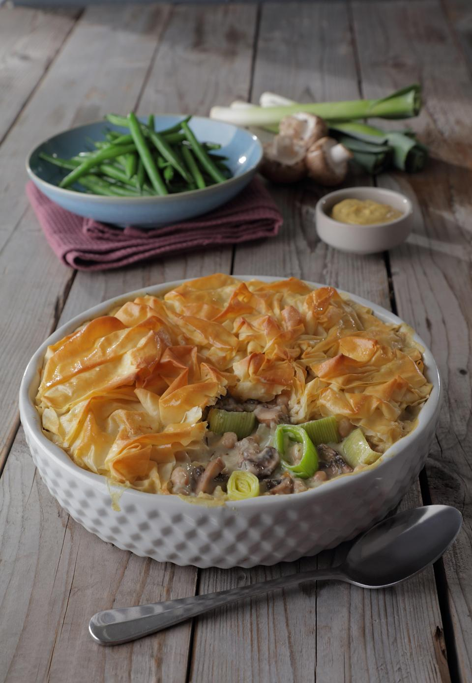 Who doesn't love a creamy, leeky pie?The Vegetarian Society