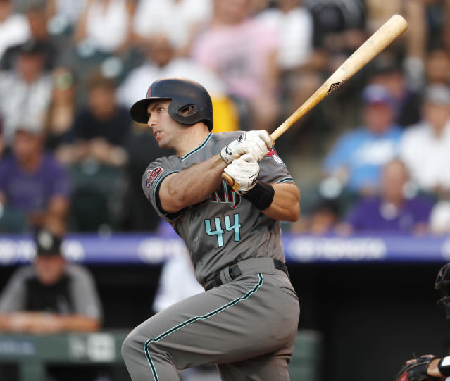 First baseman Paul Goldschmidt was traded on Wednesday to the St. Louis Cardinals. (AP)