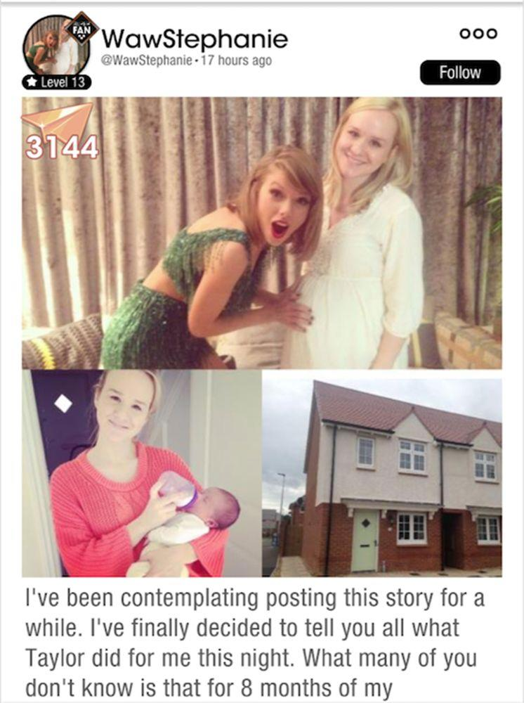 Stephanie and Taylor Swift