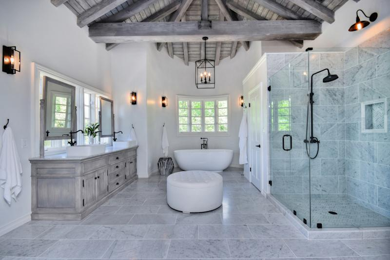 This is one of the 10 bathrooms. (Photo: MLS)