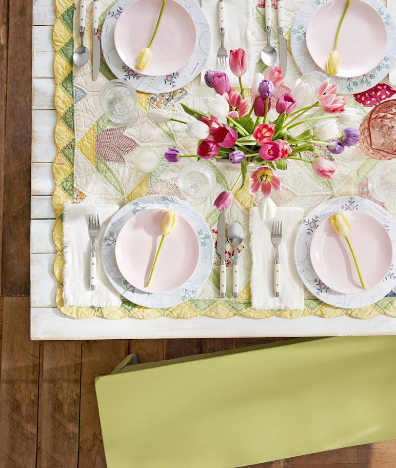 "<p>This <a rel=""nofollow"" href=""https://www.countryliving.com/life/a46407/why-does-easter-change-dates/"">spring holiday</a> season, we encourage you to hop on the wild side with a more original theme in mind-rustic Easter decorations. You know and love this unfussy trend when it comes to your <a rel=""nofollow"" href=""https://www.countryliving.com/home-design/decorating-ideas/g4263/rustic-farmhouse-kitchen-ideas/"">evergreen at-home design</a>, so why not spruce up your Easter spread with these one-of-a-kind, budget-friendly ideas? We're talking everything from embroidered tablecloths to DIY burlap bunny pillows to <a rel=""nofollow"" href=""https://www.countryliving.com/entertaining/g26799740/easter-floral-centerpieces/"">simple flower centerpieces</a>. Plus, for more ways to make this your coziest, quaintest Easter to date, check out more <a rel=""nofollow"" href=""https://www.countryliving.com/entertaining/g2256/easter-table-displays-0406/"">tablescape decorations</a> and fun <a rel=""nofollow"" href=""https://www.countryliving.com/diy-crafts/how-to/g1111/easter-crafts/"">Easter crafts for children</a>. </p>"