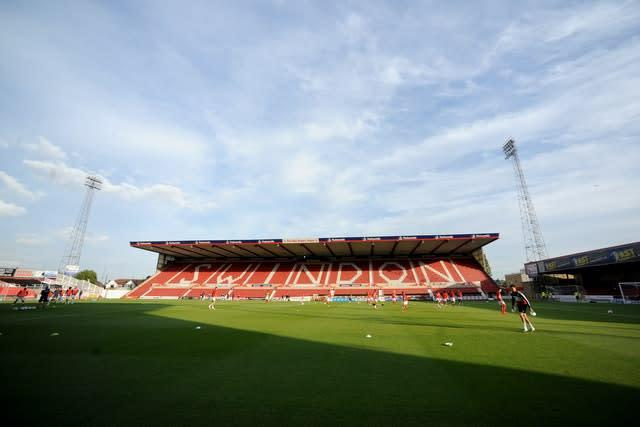 Swindon will be promoted under the points-per-game basis if that gets voted through (Simon Galloway/PA)