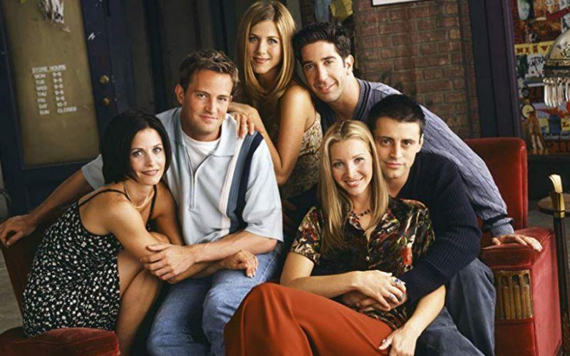 The cast of Friends (Credit: NBC)