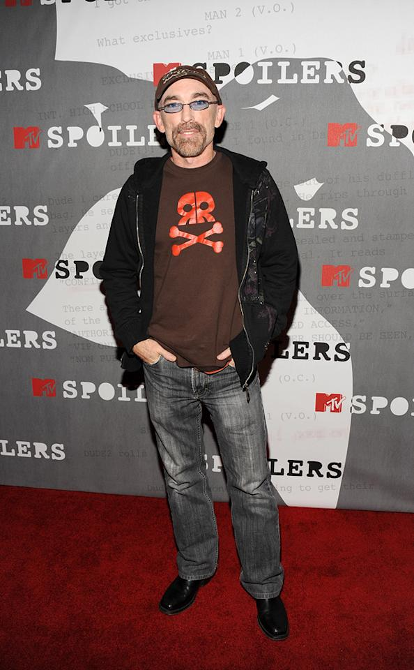"<a href=""http://movies.yahoo.com/movie/contributor/1800031219"">Jackie Earle Haley</a> at the MTV screening party for <a href=""http://movies.yahoo.com/movie/1808406490/info"">Watchmen</a> in West Hollywood - 02/18/2009"