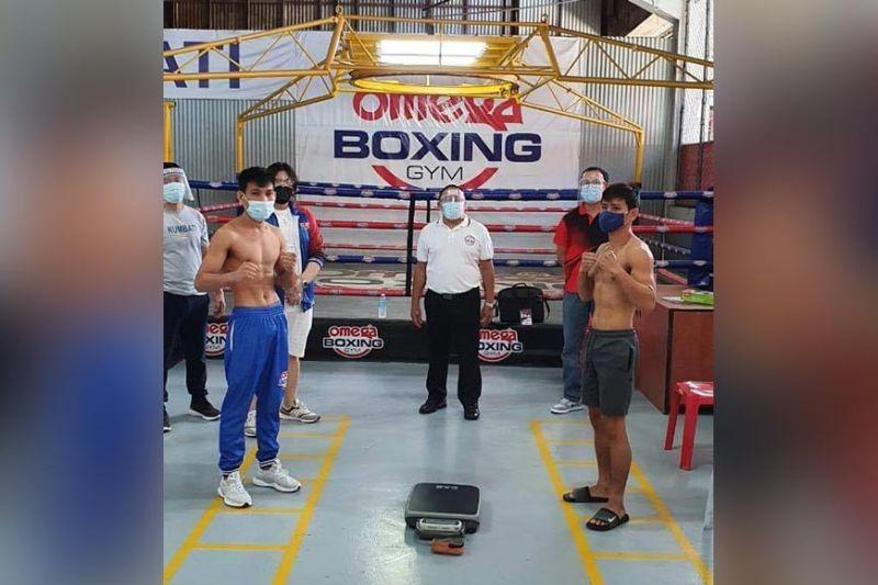 Vicelles, Lacar headline first 'bubble boxing' event in the PH