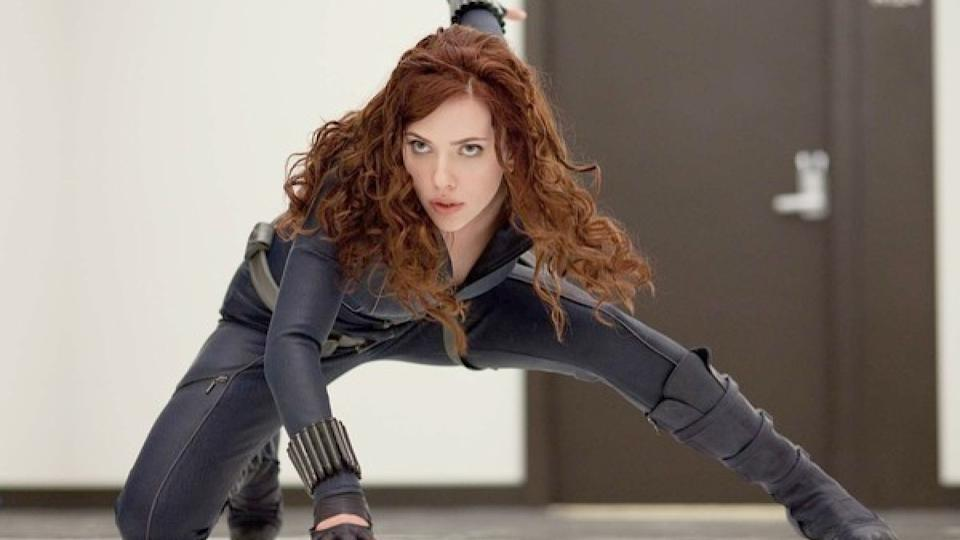The role of Black Widow went to Scarlett Johansson. (Credit: Marvel)