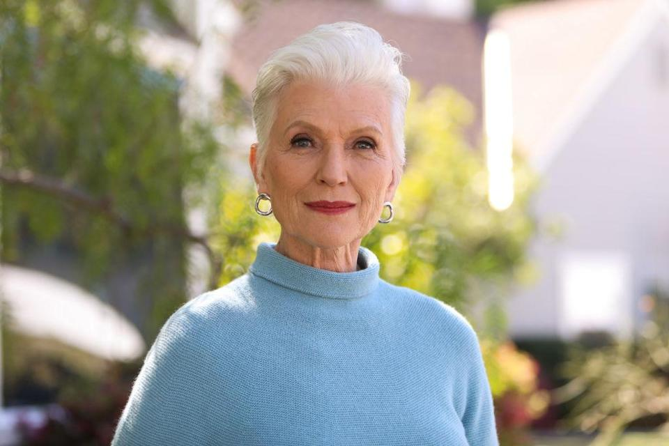 Maye Musk has revealed the sweet nickname she has for her new grandson, pictured here in February 2020. (Getty Images)
