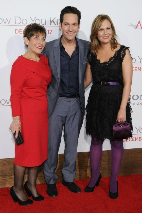 <p>Paul treated his mom, Gloria Rudd, to a night in the spotlight at the 2010 world premiere for <em>How Do You Know</em>.</p>