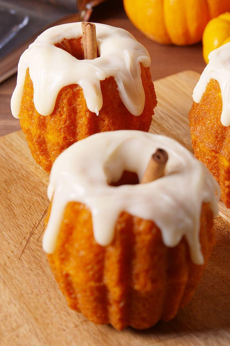 "<p>They're a piece of cake to make!</p><p>Get the recipe from <a href=""https://www.delish.com/cooking/recipes/a50030/chocolate-filled-pumpkins-recipe/"" rel=""nofollow noopener"" target=""_blank"" data-ylk=""slk:Delish"" class=""link rapid-noclick-resp"">Delish</a>.</p><p><a class=""link rapid-noclick-resp"" href=""https://www.amazon.com/Pyrex-Prepware-3-Piece-Glass-Mixing/dp/B00LGLHUA0/?tag=syn-yahoo-20&ascsubtag=%5Bartid%7C1782.g.1156%5Bsrc%7Cyahoo-us"" rel=""nofollow noopener"" target=""_blank"" data-ylk=""slk:BUY NOW"">BUY NOW</a> <strong><em>Pyrex Bowls, $12.50, amazon.com</em></strong></p>"