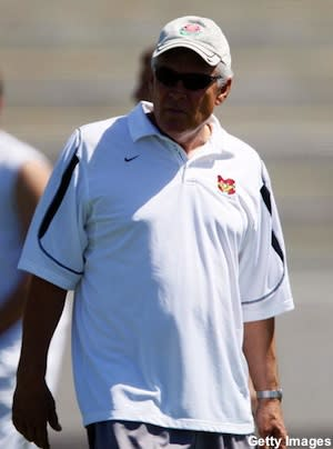 Mission Viejo football coach Bob Johnson