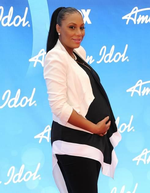Tamar Braxton attends the American Idol 2013 finale at Nokia Theatre L.A. Live on May 16, 2013 in Los Angeles -- Getty Premium