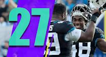 <p>Did the defense really just quit on Blake Bortles? I mean, it's either that or their first good effort in two months happened coincidentally right after Bortles was benched. (Marcell Dareus, Leon Jacobs) </p>