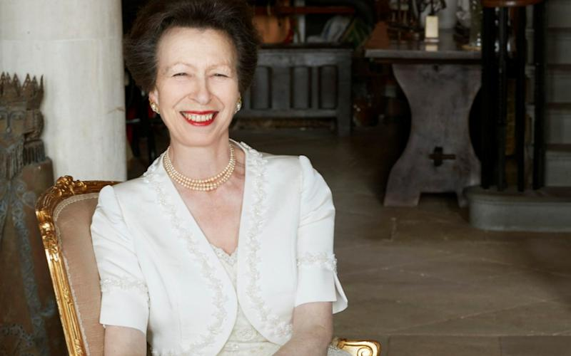 Princess Anne photographed by John Swannell to mark her 70th birthday - Reuters