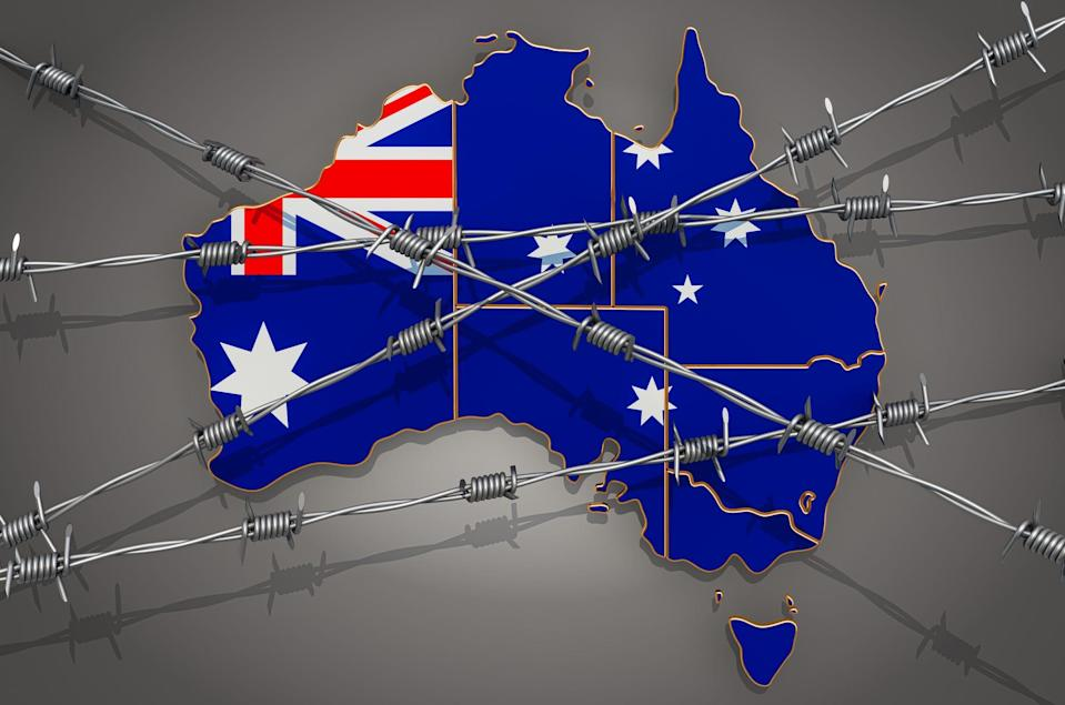 Australia is keeping its borders closed until at least mid-June because of the threat posed by COVID-19, especially new variants of the coronavirus that causes the disease.