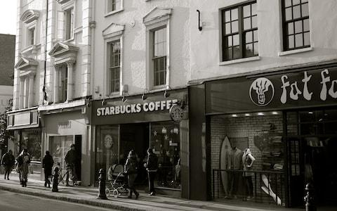 Starbucks took over the Fantasie Café - Credit: ROB BAKER