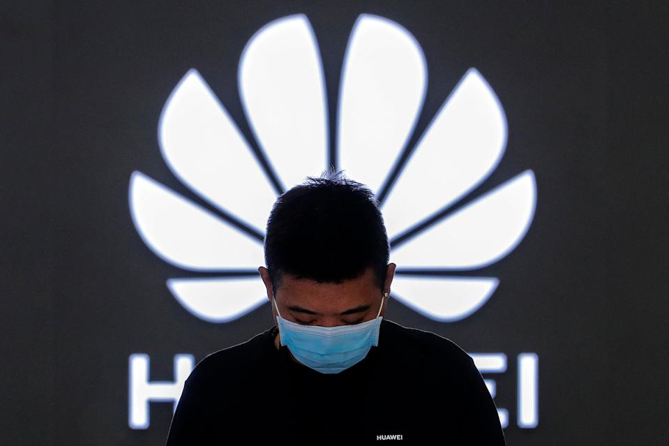 China Huawei (Copyright 2021 The Associated Press. All rights reserved.)