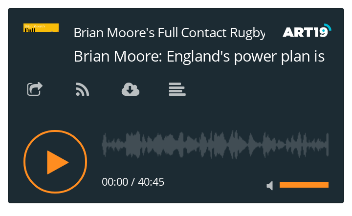 Brian Moore's Full Contact Rugby podcast - 30/11/20