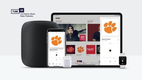 TuneIn and Apple to Bring Global Slate of Radio Stations to Apple Music and All Siri-Enabled Devices