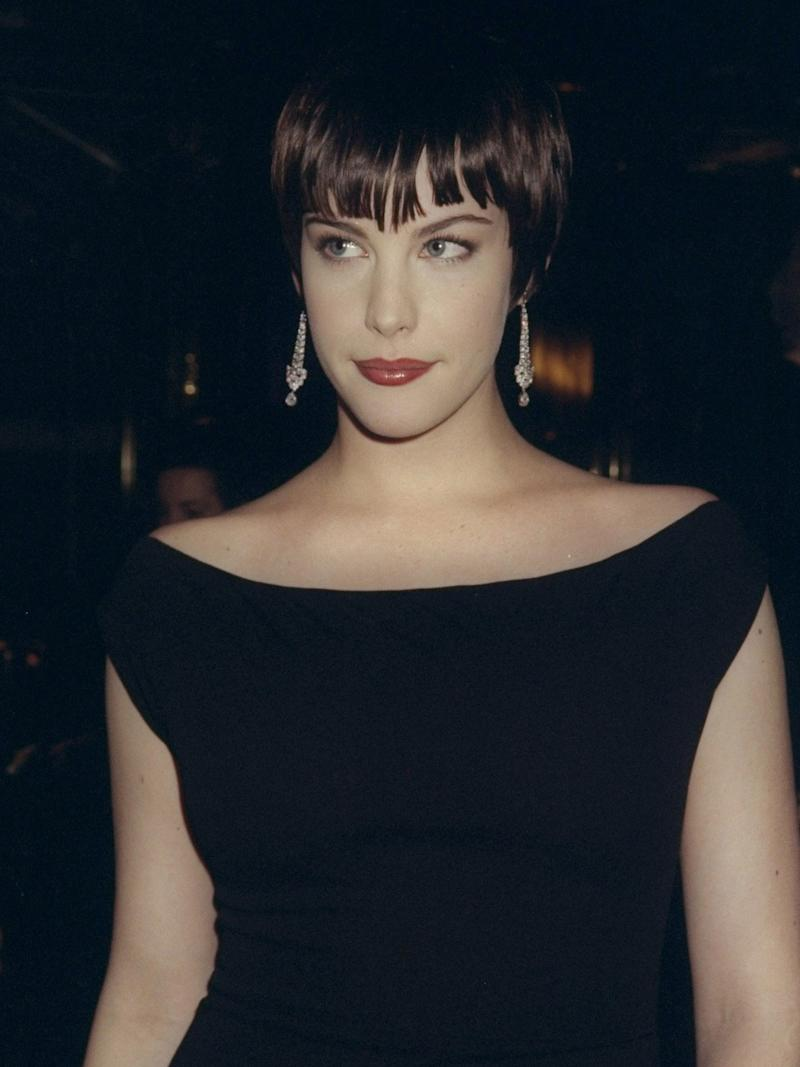 """Liv Tyler, 1998, """"Cubism and Fashion"""""""