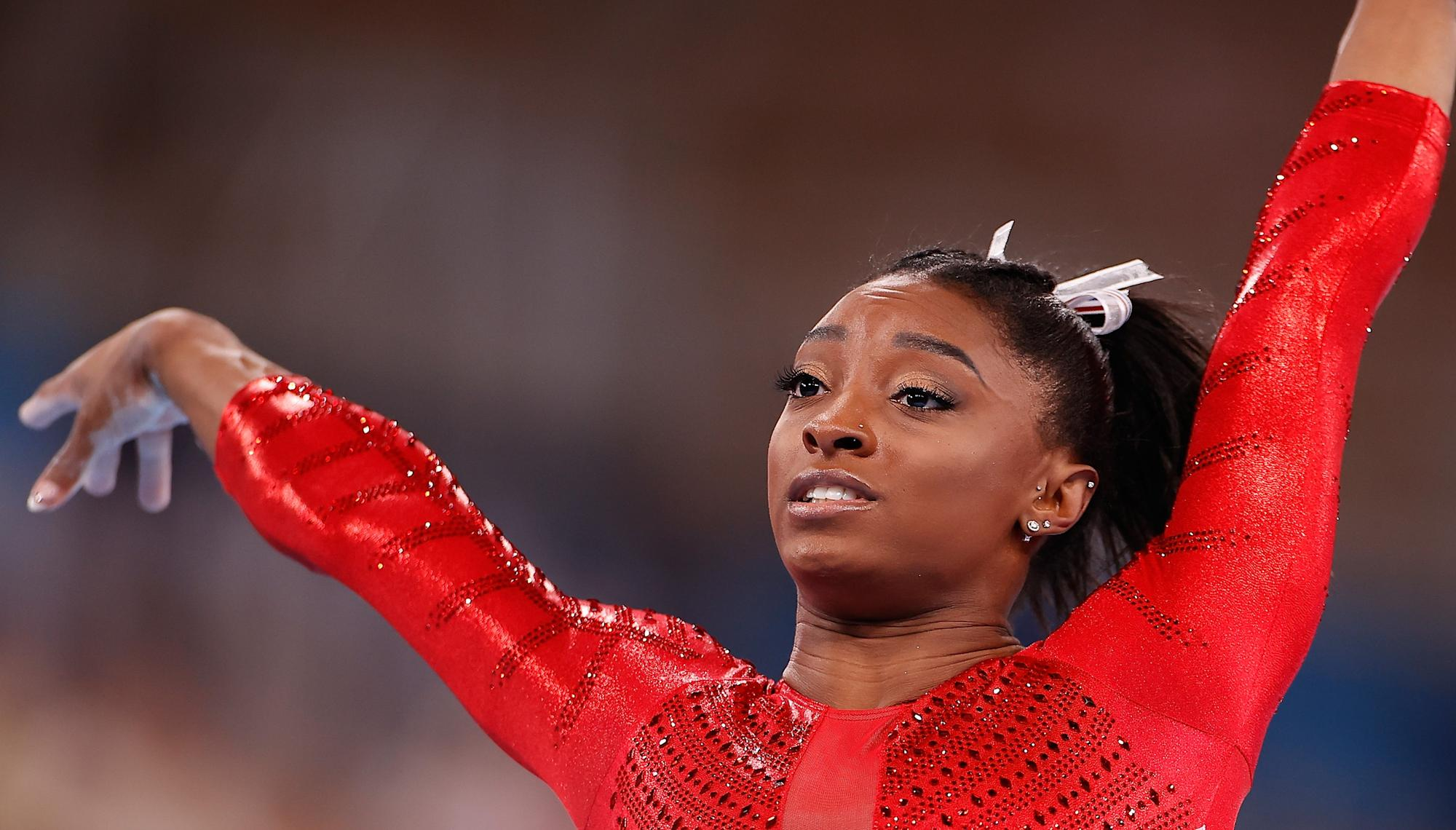 Praising Simone Biles at her breaking point is not dealing with mental health