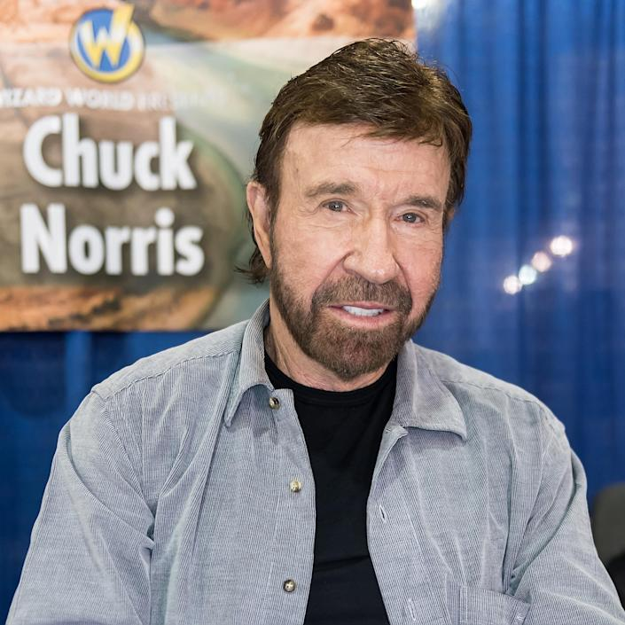 Chuck Norris (Gilbert Carrasquillo / Getty Images)