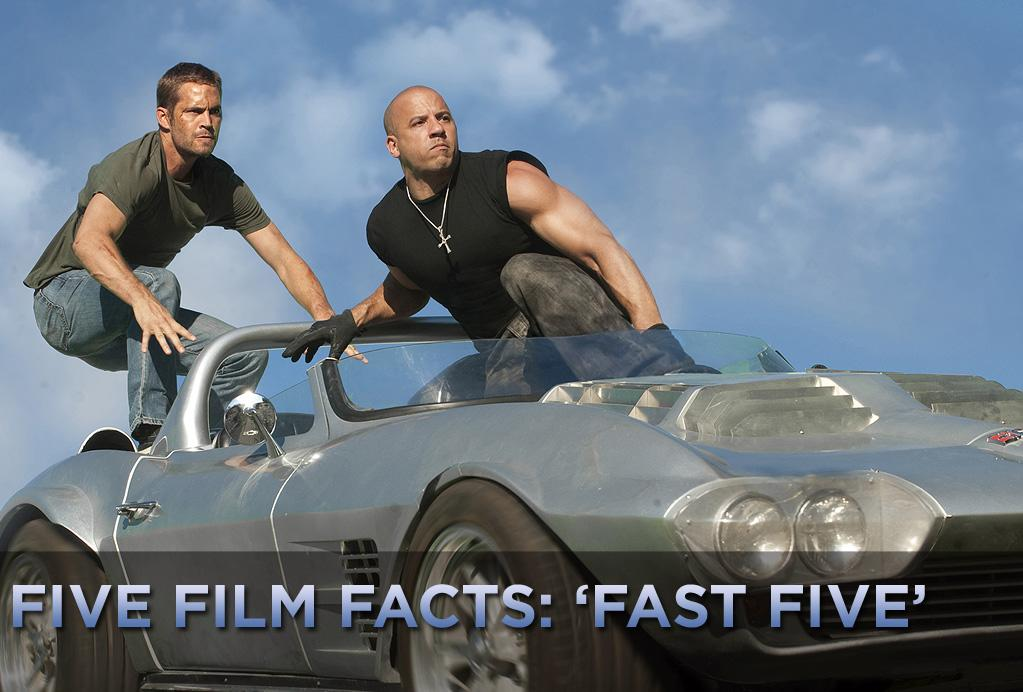 "For the fifth installment of the ""Fast and Furious"" franchise, the filmmakers needed to think big. They reunited just about every major character from the earlier movies, they added an A-list action star to their ranks, and they relocated much of the production to the sun and sand of Rio de Janeiro. Yet, the ""Fast"" series has always been about cars. The centerpiece car chase in ""<a href=""http://movies.yahoo.com/movie/1810147120/info"">Fast Five</a>"" is anything but not big. In the 20-minute sequence in which Paul Walker and Vin Diesel -- in their trademark muscle cars -- drag an 8,000-pound safe through the narrow streets of Rio, banking around sharp corners, the vault turns into a massive mace of sorts, trashing property and pretty much any car that gets in its way. According to Dennis McCarthy, the movie's car coordinator, that one scene managed to destroy close to 200 cars.   <a href=""http://movies.yahoo.com/showtimes-tickets/movies/1810147120-movie/"">Find showtimes and tickets for 'Fast Five' >></a>"