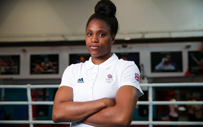 Twenty-year-old Caroline Dubois is the youngest member of the Team GB boxing contingent - GETTY IMAGES