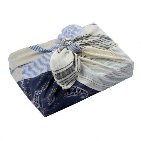 """<strong><h3><a href=""""https://www.worldmarket.com/category/gifts/gift-wrap/decorative-paper-gift-wrap.do"""" rel=""""nofollow noopener"""" target=""""_blank"""" data-ylk=""""slk:World Market"""" class=""""link rapid-noclick-resp"""">World Market</a></h3></strong><br><strong>Good for: </strong>A retro aesthetic, especially as it pertains to the holidays. <br><br><strong>What to love: </strong>World Market's gift wrap lineup has a vintage feel to it, lending an air of magic and timelessness to an already dreamy holiday season. We also love that the retailer offers an <a href=""""https://www.worldmarket.com/product/upcycled+fabric+silaiwali+gift+wrap.do"""" rel=""""nofollow noopener"""" target=""""_blank"""" data-ylk=""""slk:upcycled fabric wrap"""" class=""""link rapid-noclick-resp"""">upcycled fabric wrap</a> alternative to its standard gift wrap assortment. <br><br><strong>World Market</strong> Upcycled Fabric Silaiwali Gift Wrap, $, available at <a href=""""https://go.skimresources.com/?id=30283X879131&url=https%3A%2F%2Fwww.worldmarket.com%2Fproduct%2Fupcycled%2Bfabric%2Bsilaiwali%2Bgift%2Bwrap.do"""" rel=""""nofollow noopener"""" target=""""_blank"""" data-ylk=""""slk:Cost Plus World Market"""" class=""""link rapid-noclick-resp"""">Cost Plus World Market</a>"""