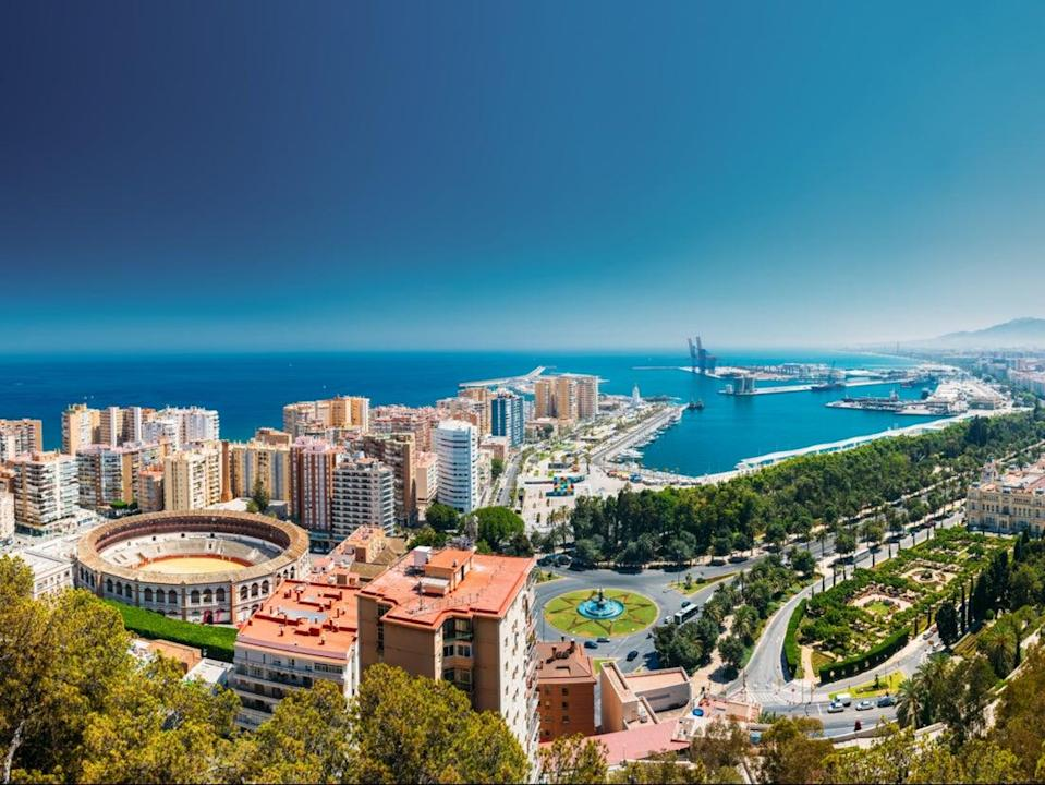 <p>Malaga is the gateway to the Costa del Sol region</p> (Getty Images/iStockphoto)