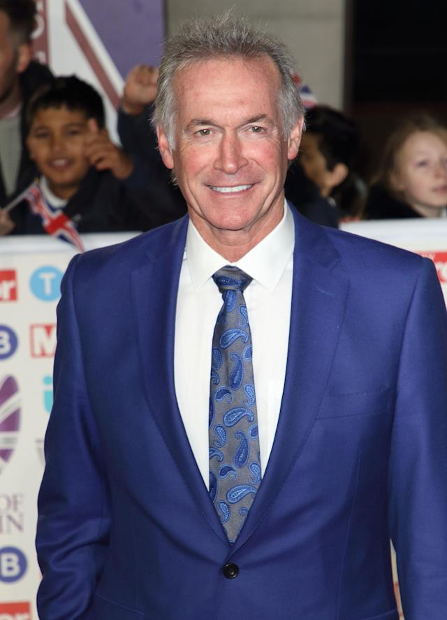 Dr Hilary Jones on the red carpet at The Daily Mirror Pride of Britain Awards (Keith Mayhew / SOPA Images/Sipa USA)