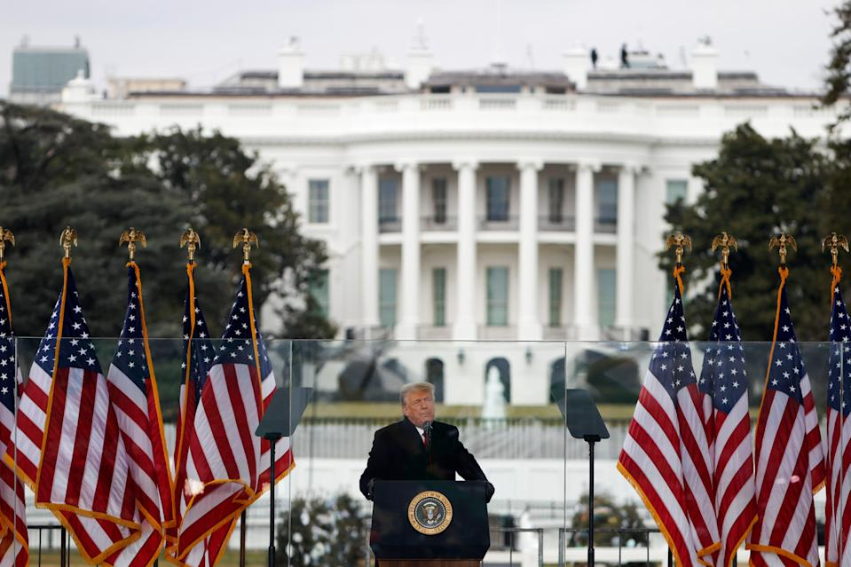 <p> President Donald Trump speaks at the