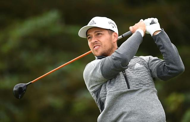 Xander Schauffele took aim at British Open organisers the R&A for their selected testing on clubs (AFP Photo/ANDY BUCHANAN )