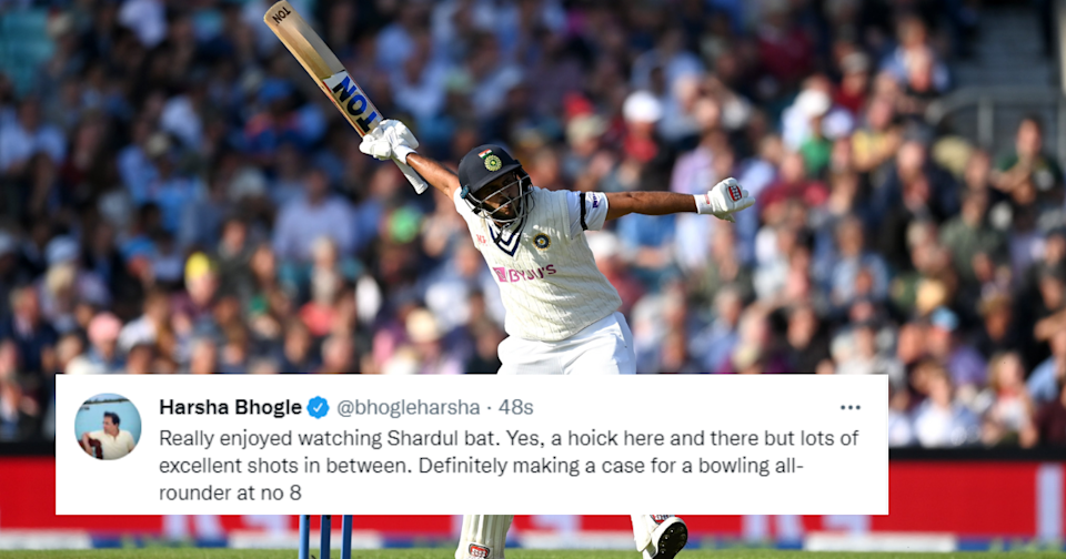 Twitter Hails Shardul Thakur's Counter-Attacking Fifty At The Oval