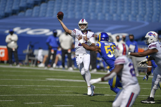 Allen and Daboll overseeing Buffalo Bills' pass-happy attack