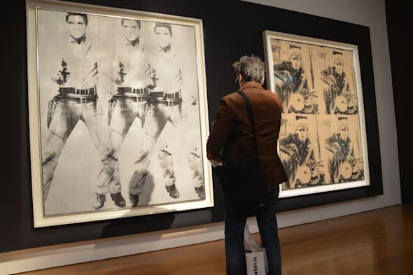 Auctioning two Warhol paintings