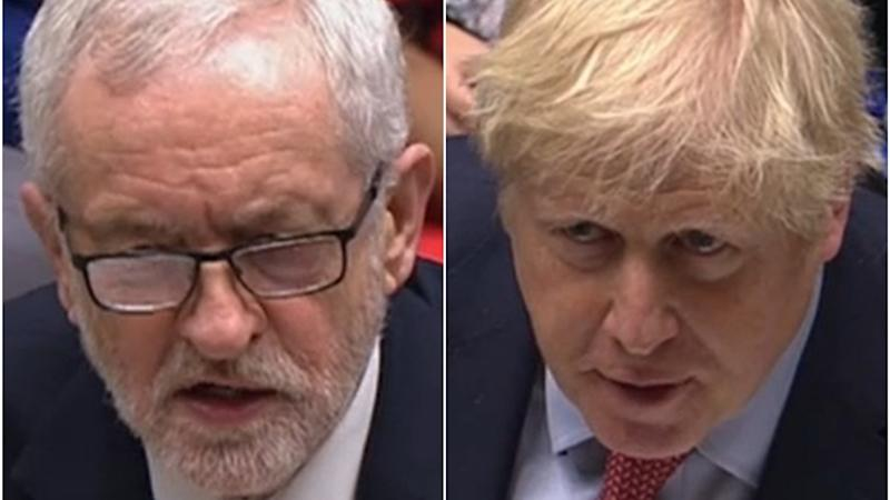 Corbyn accuses Johnson of dodging questions over Universal Credit